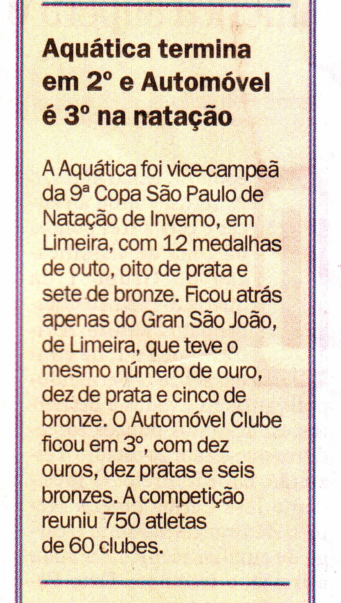 Caderno Esportes - Diário da Região - 09/06/2015