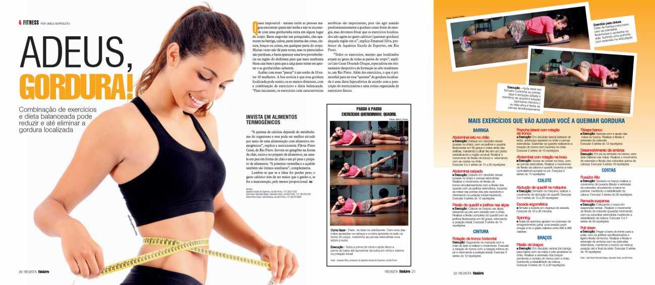 Revista Vida & Arte Pag. 20 a 22 - 27/07/2015