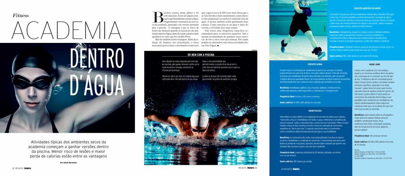 Revista Vida e Arte, pgs 32 a 34 - 05/01/2016