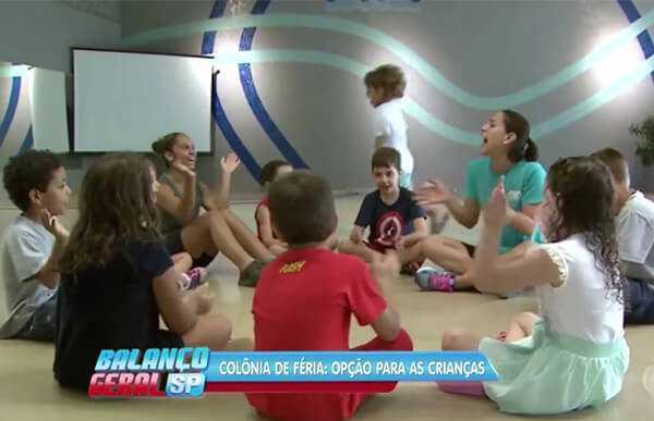 TV Record - Colônia de férias: opção para as crianças