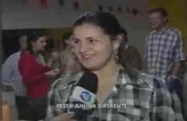 Matéria do SP Record sobre a festa junina na piscina 22/06