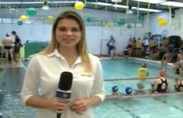 Rede Vida - Maior aula de natação do mundo